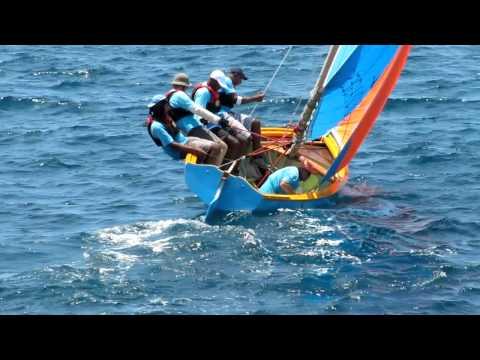 Voiles traditionnelles en Guadeloupe - 2011