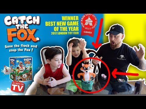 LET'S PLAY! | Catch The Fox (or Chickens) by Goliath Games | Game Play and Review