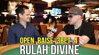 Open, RAISE, 3Bet, 4! A chat with Poker rapper Rulah Divine.