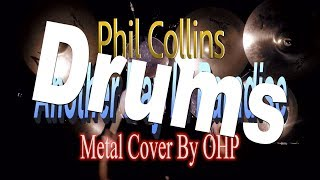 Phil collins - another day in paradise (metal cover by ohp)