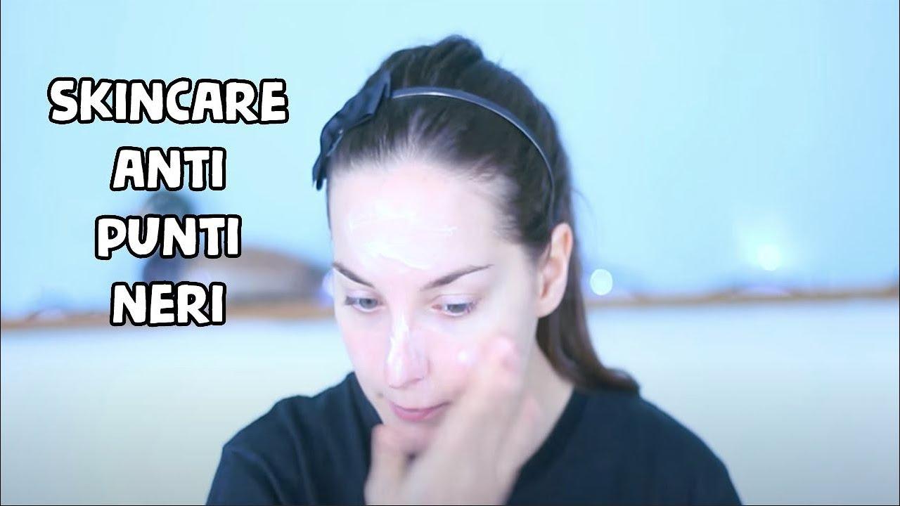 pulizia del viso fai da te in 6 step anti punti neri ! - youtube