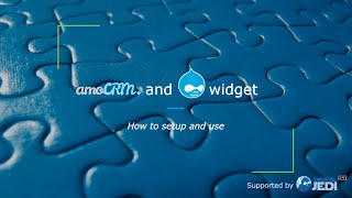 Demo of Drupal modules: amoCRM Widget Mail & amoCRM Contact