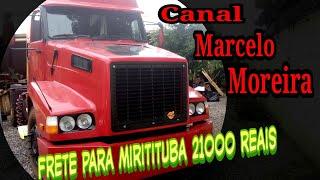 Frete para Miritituba 21000 reais
