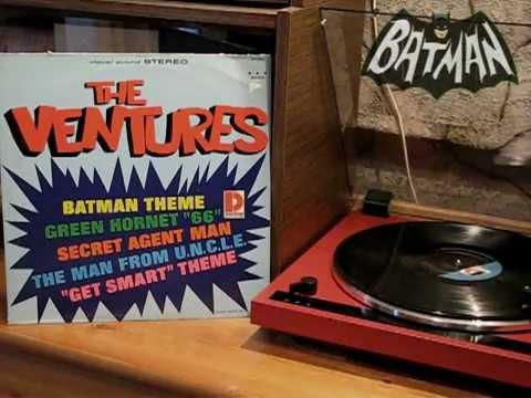 The Ventures Quot Batman Theme Quot Vinyl Youtube
