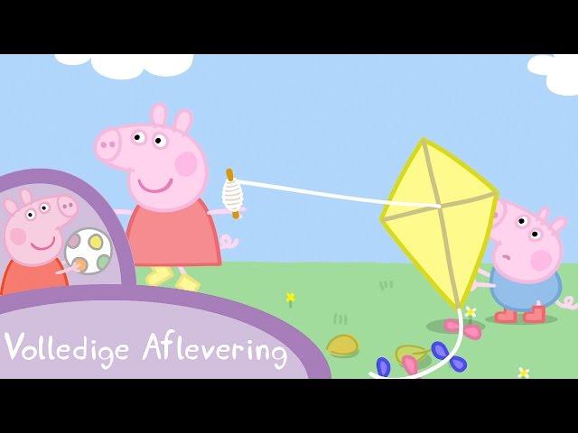 Peppa Pig Nederlands Compilatie Nieuwe Afleveringen | Vliegeren | Tekenfilm | Peppa de Big