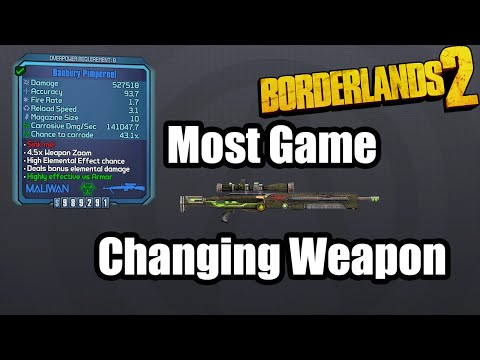 Borderlands 2- Most Game Changing Weapon - The Pimpernel
