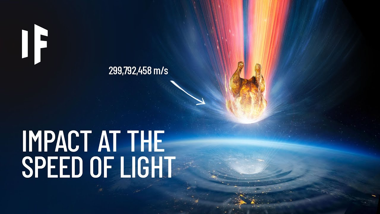 What If a Turkey Hit Earth at the Speed of Light?