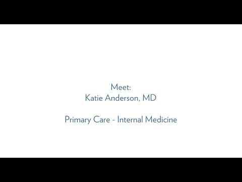 Katie Anderson, MD, Primary Care - Internal Medicine, MUSC Health