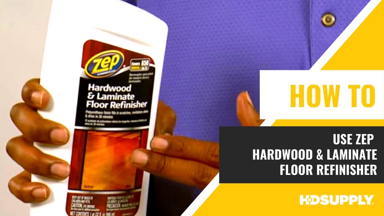 Zep Commercial Hardwood Laminate Floor Refinisher Hd Supply Facilities Maintenance