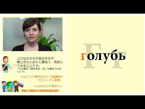 ロシア語発音基礎講座2、基本アルファベット33文字と対応単語編