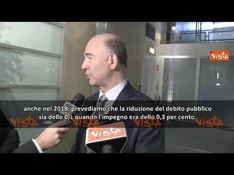 Manovra, UE chiede all'Italia di diminuire il debito di 3,5 miliardi