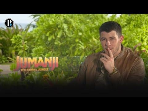 Nick Jonas presenta Jumanji y nos cuenta su experiencia en el filme