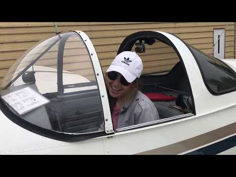 Maddie Flies  The Ercoupe!