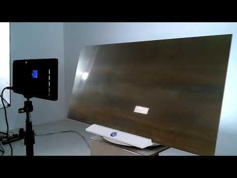 Gres porcellanato CORTEN moderno 180 x 80 cm. effetto metallo ramato ruggine, cromo stile industrial