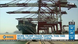 President Donald Trump has approved a plan to impose punishing tari...