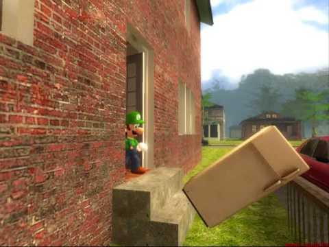 Luigi Fails At Cooking