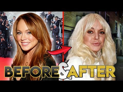 Lindsay Lohan 2019 Before and After Transformations