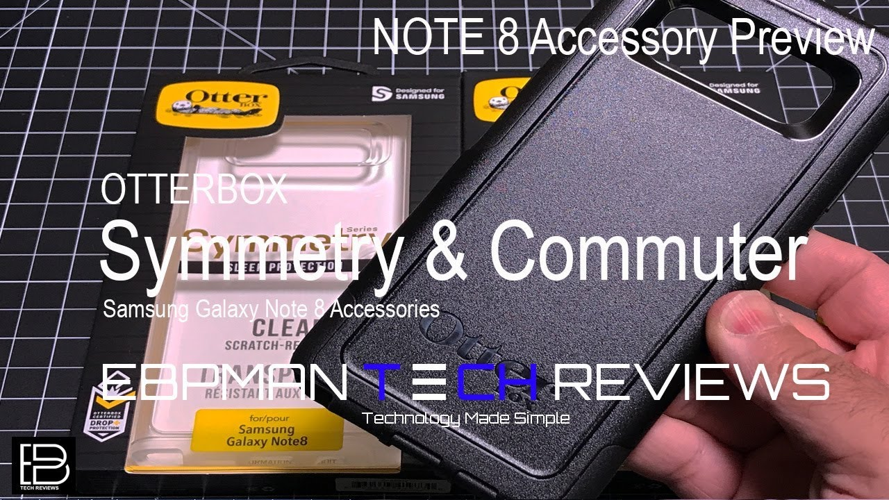 buy online 6687a 65df9 Note 8 Cases The Otterbox Commuter & Symmetry Cases