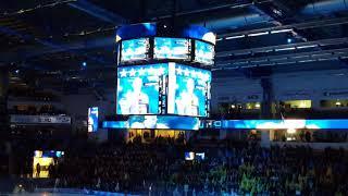 Famtastisk stämning i Kinnarps arena  HV71  - Frölunda
