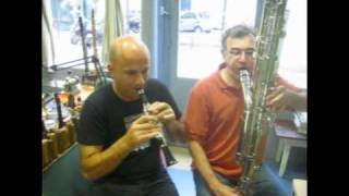 Octocontralto clarinet and piccolo A-flat clarinet : Dance of the Sugar Plum Fairy