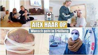 Alex Haartransplantation 💉 Ablauf & Ergebnis | Familien Alltag | Isabeau