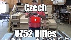 Surplus Release: Czech VZ52 Rifles - 7.62X45 Caliber