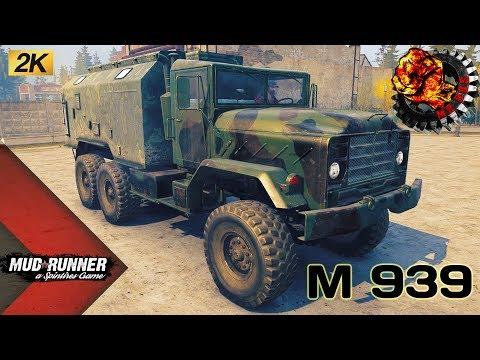 М 939 Честный Обзор мода Spintires MudRunner