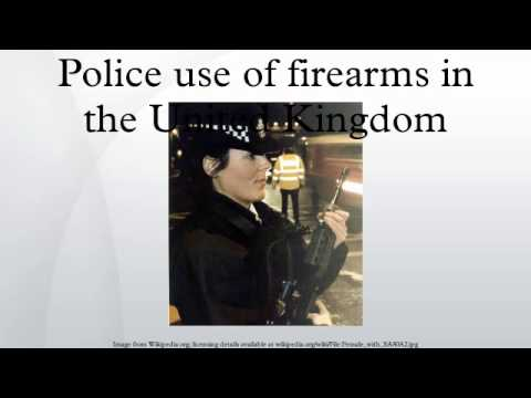 Police use of firearms in the United Kingdom