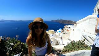 Travel to Santorini 2018