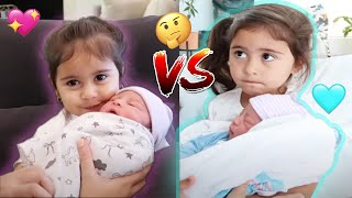 HOW ELLE MET ALAIA VS HER BROTHER !!