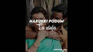 Sirukki vasam song/kodi movie/lyrical WhatsApp status 💞 #dhanush #trisha #vetrimaran #anupama
