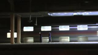 前回に次いで今回はカシオペアで撮ってみました。推進回送~発車~通過...