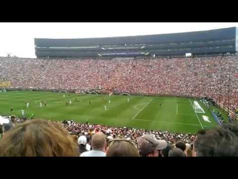 The Wave @ Michigan Stadium, Real Madrid vs Manchester United 2014 ICC