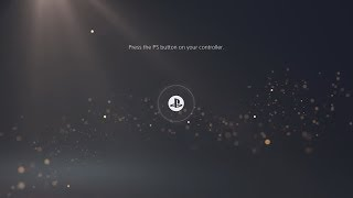 PS5 Start Screen & Playstation 5 Console Revealed!