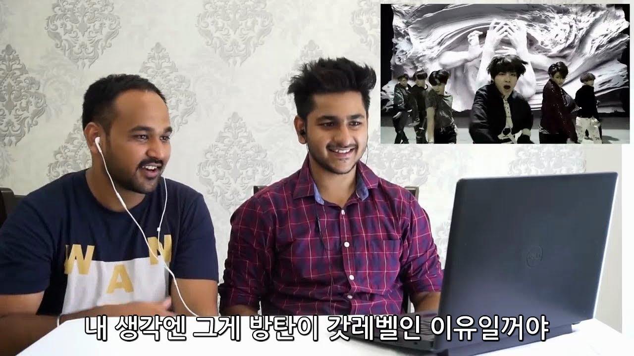 [한글 자막] 방탄소년단의 뮤비를 본 인도사람들의 반응