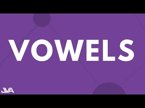 Vowels - Vocal Exercise