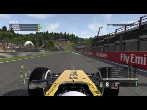 PS4 F1 2016 Race 13 Belgian GP Solid 2nd Place!