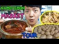 Street Food Tour of LARGEST TRADITIONAL Market in Korea: Namdaemun Market
