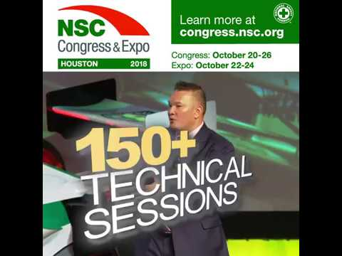 2018 NSC Congress & Expo; Learn More Today!