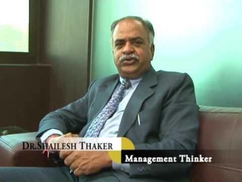 Dr.Shailesh Thaker - Indian Management Thinker, Leadership India ...