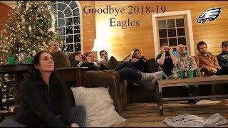 EAGLES SAINTS FAN REACTIONS- ITS OVER!! (Eagles @ Saints) 2019