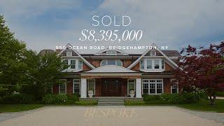 Hamptons Real Estate- 950 Ocean Road, Bridgehampton, NY