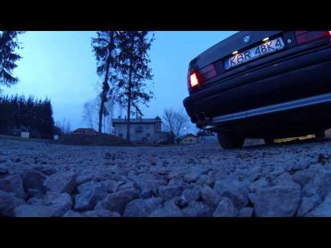 BMW M5 E34 3.8 S38B38 Eisenmann Race + Supersprint Center Sound Exhaust