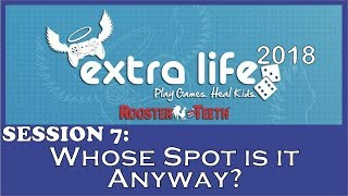 RT Extra Life 2018 - Whose Spot is it Anyway