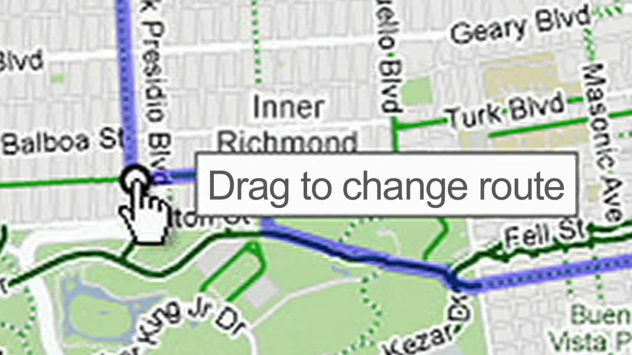 Biking Directions on Google Maps - YouTube on