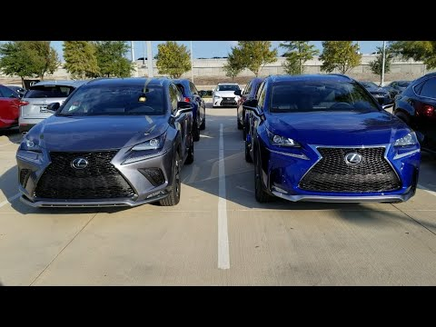 new 2018 lexus nx 300 vs 2017 nx 200t youtube. Black Bedroom Furniture Sets. Home Design Ideas