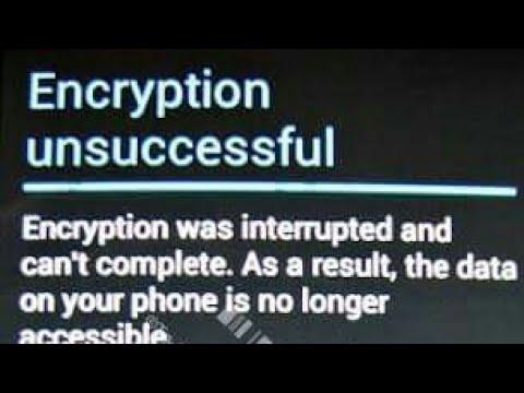 Huawei y625-u32 fix Encryption unsuccessful