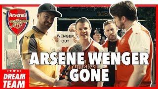 Breaking: arsenal fan tv react to arsene wenger leaving