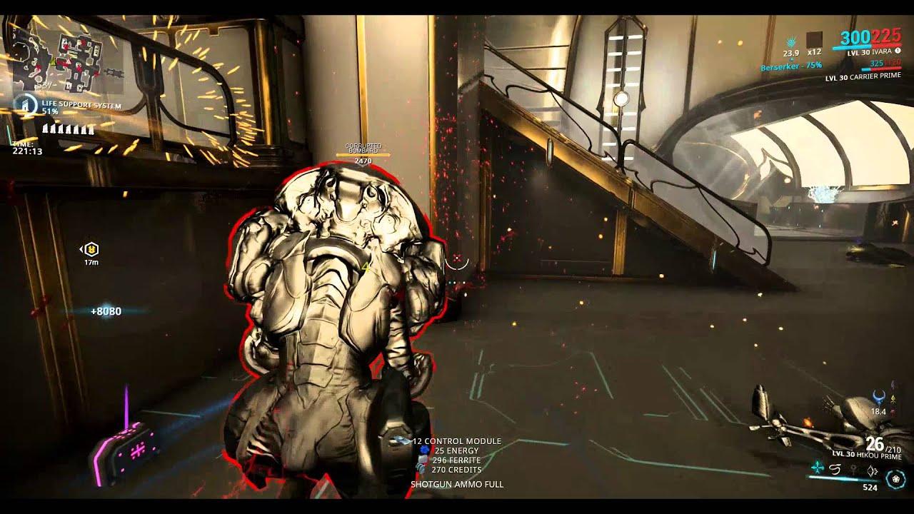 Warframe Solo T4 Survival Ivara 5 Hours YouTube