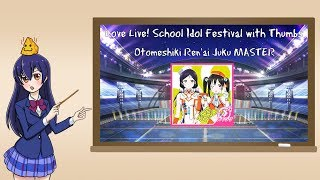 Love Live! School Idol Festival with Thumbs - Otomeshiki Renai Juku MASTER Cheese